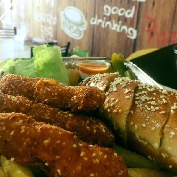 اصابع دجاج + بطاطا + كولا
