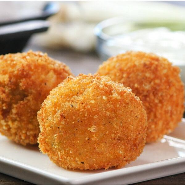 Potato balls ( one piece ) - fried