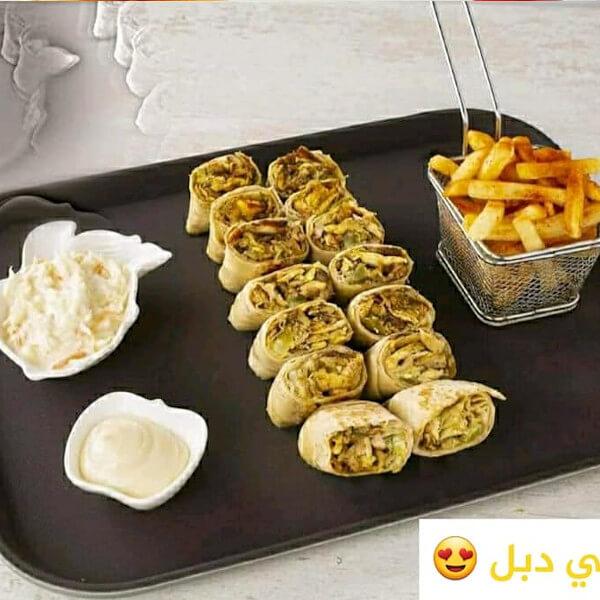 طبق عربي دبل