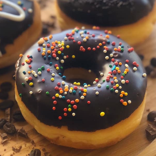 Donuts special stuffed with chocolate