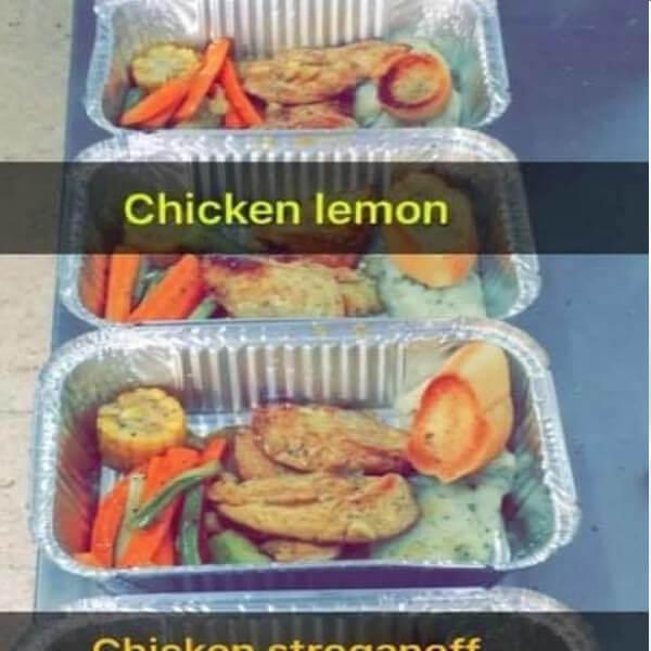دجاج بالليمون و الثوم