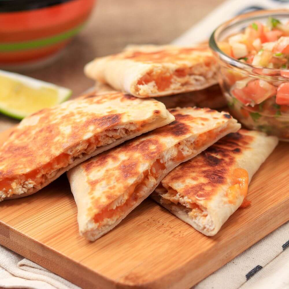 Casadia - chicken with cheese