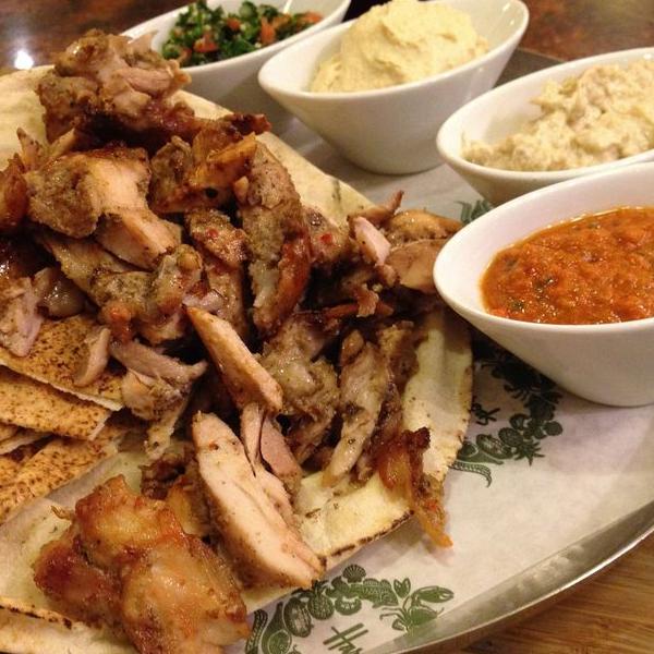 صحن شاورما دجاج