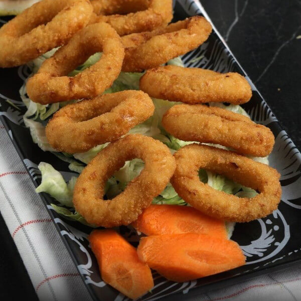 Onion rings - 10 pcs