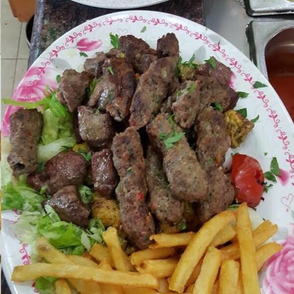 Kebab meal 250 grams