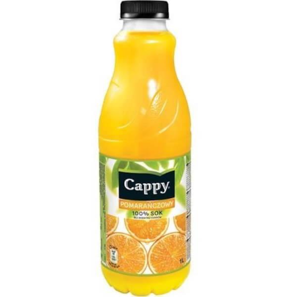 Orange cappy