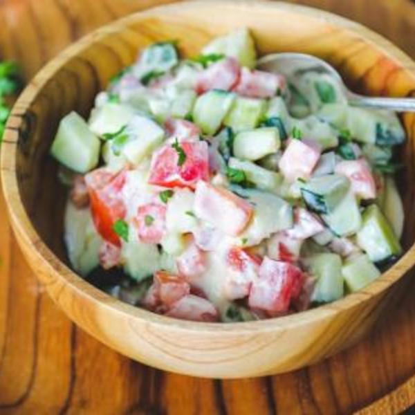 Tahina Arabic Salad