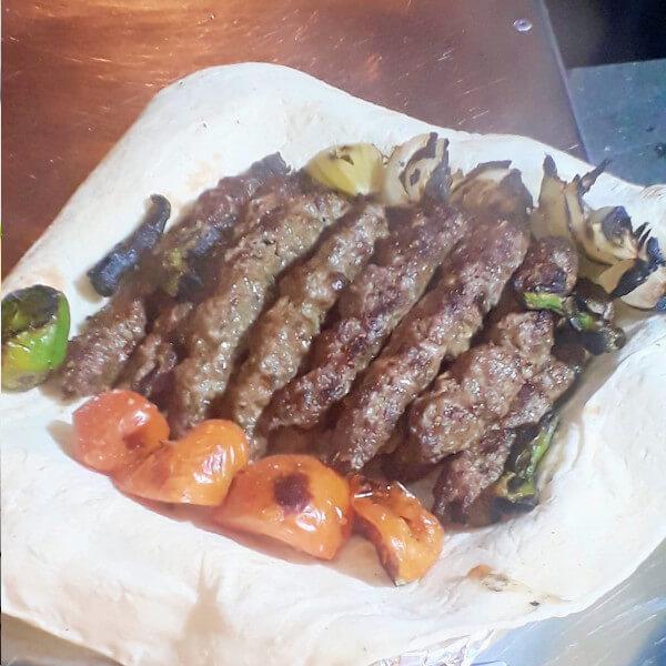 A kilo of fresh kebab