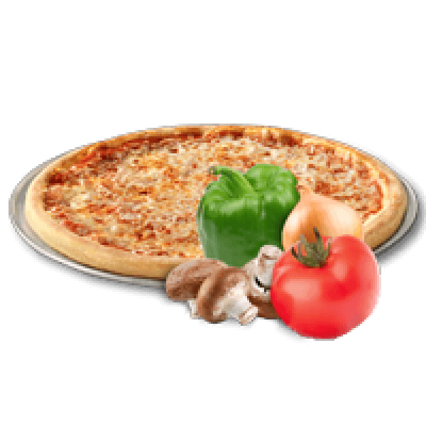 Green Pepper&Onion Pizza