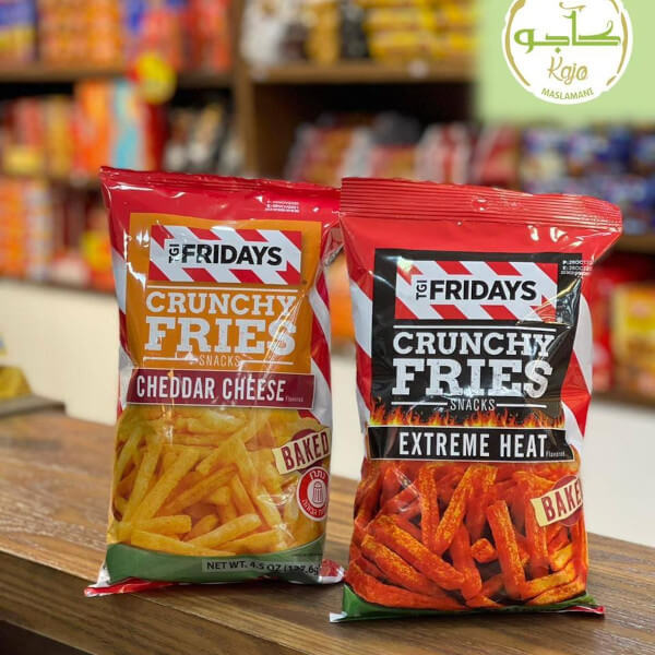 Crunchy Fries - extreme heat