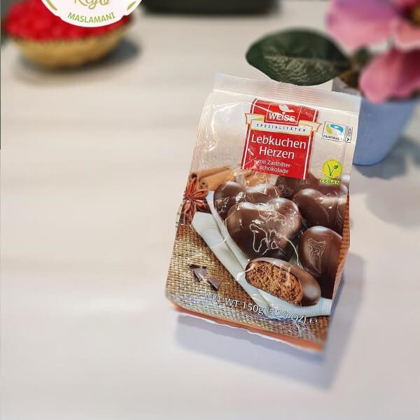 2 lebkuchen herzen (Heart of ginger) - 150g