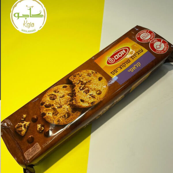 Biscuit with chocolate