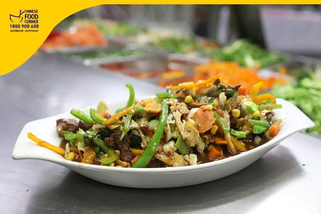 لحم عجل مع صلصة صينية