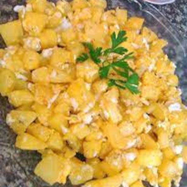 Potato and egg mufrikah